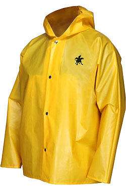 Navigator Jacket w/Attached Hood Yellow
