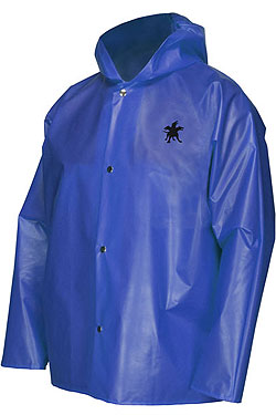Navigator Jacket w/Attached Hood Blue