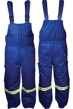 Extreme Climate Insulated Bib - Blue