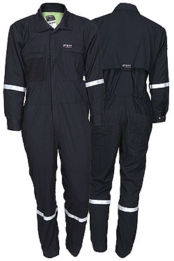 Summit Breeze® Navy Coverall