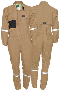 Summit Breeze® Tan Coverall