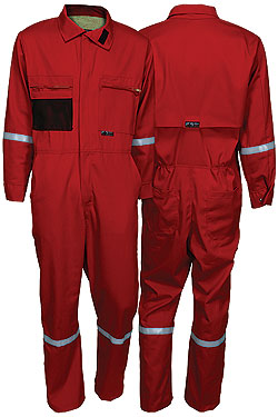 Summit Breeze® Red Coverall