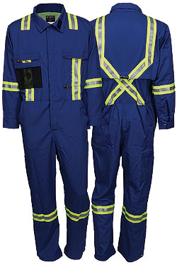 Summit Breeze® Royal Blue Coverall