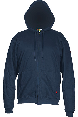 Hooded Sweatshirt - Navy Blue