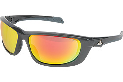 USS Defense Fire Red Polarized