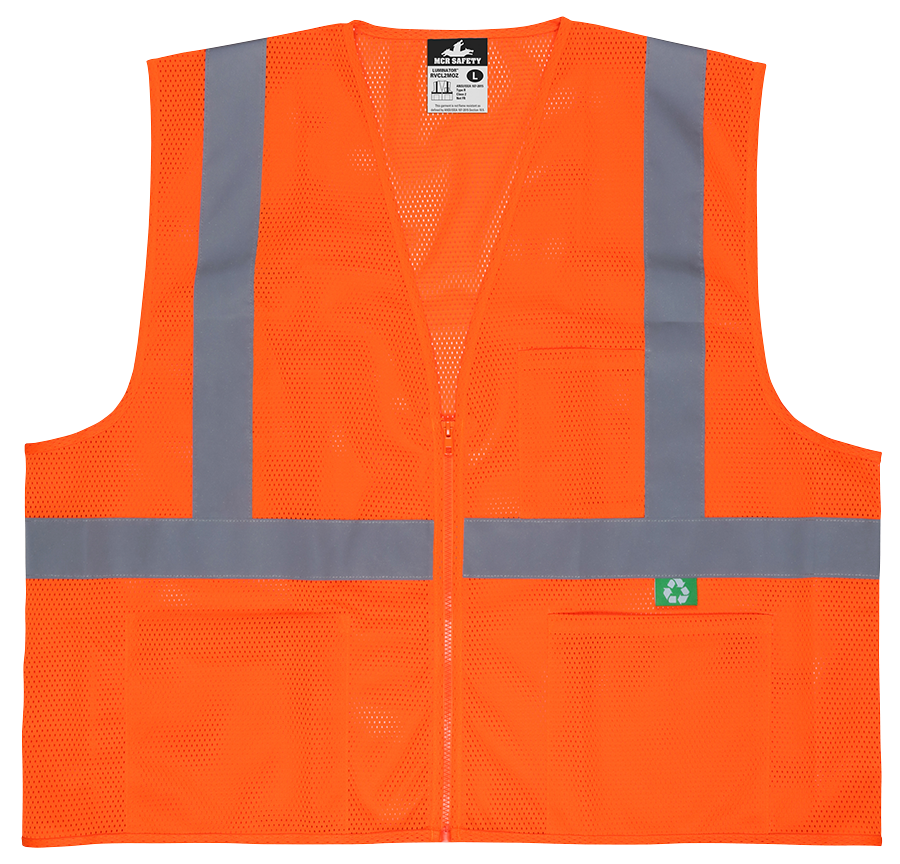 Recycled Class 2 Safety Vest